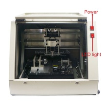 2 in 1 CNC laser engraving machine 3020 4axis CNC milling cutting router ball screw with 500mw laser head