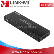 LINK-MI LM-SP20 Best 1×8 HDMI Splitter Over Single Cat5e/6 Cable With 7 Receivers