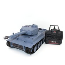 1/16 Scale Shooting BB Bullets RC Tank Set RC Military Car Long Remote Control Model Toy Gift Vehicle with 320'Rotate 30'lift