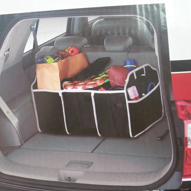 Car Bag Organizer for Car Trunk Organizer Automobile Storage Box Auto Nets Accessories for toyota c-hr audi q3 hyundai tucson