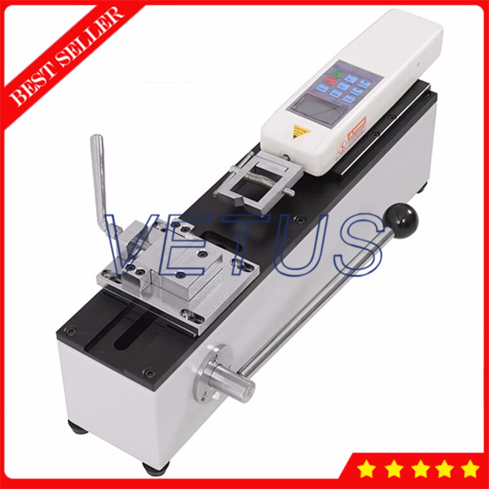 ADL 500 Manual Terminal Pulling Out Force Tester with standard shipping HF 500 force gauge and a 06 fixture Force Measuring Instruments Tools - title=