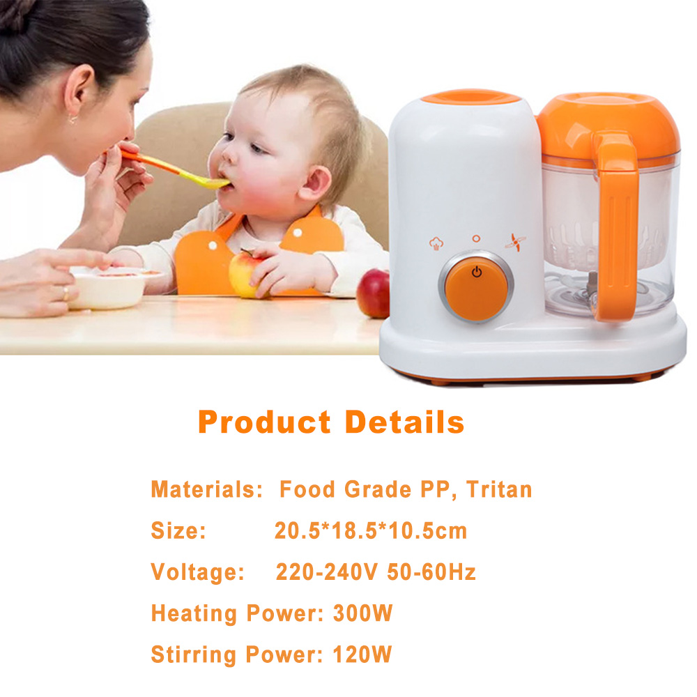 Baby Food Maker 4 in 1 Steam Cooker Blender Processor Baby Feeding Maker Organic Food Best for Toddlers and Infants  (8)
