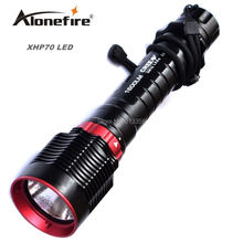 AloneFire DV31 XHP70 LED diving flashlight Underwater Flash light Lamp xhp70 Torch Diving Torch Diver flashlight