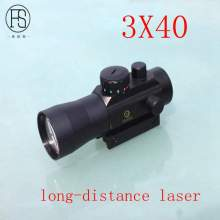 On sale 2017 3X40 Long Distance Tactical Laser Indicator FS Genetics Military Green Laser as Tactical Laser
