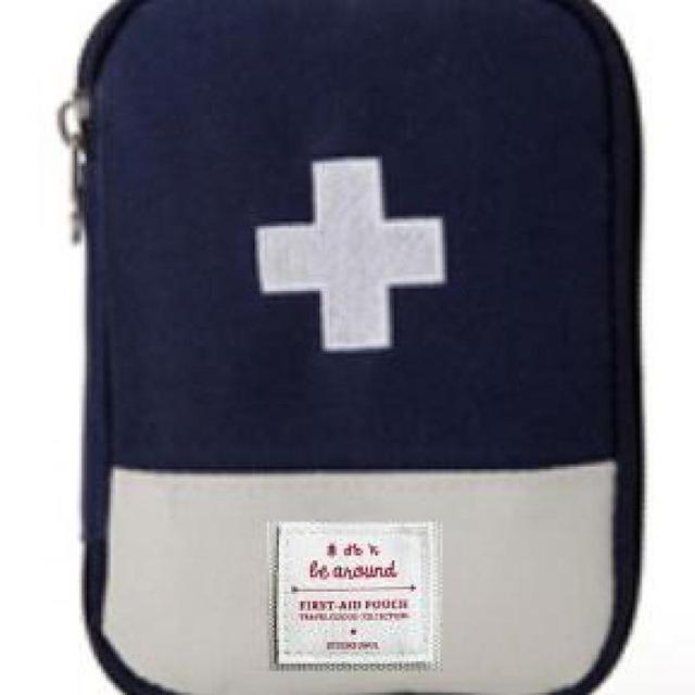 New South Korea Travel Home Portable First-aid Bag To Carry Small Medical Emergency Kit First-aid Kits