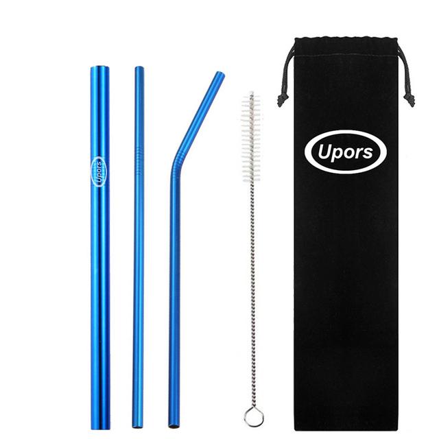 Reusable Drinking Straws 5 Pcs Set
