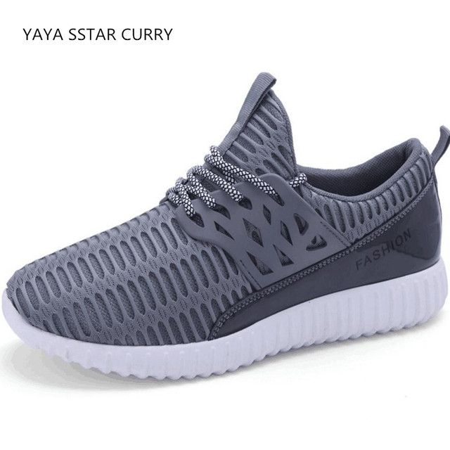 d4a410b82f3e YAYA STAR CURRY 2018 spring and summer breathable fabric is men s shoes  SuoKeNi sneakers big size 46 male summer running shoes