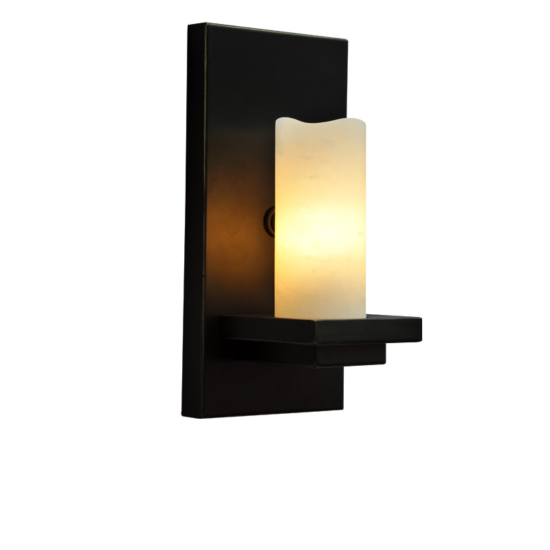 GZMJ Iron Wall Lamps Lights for Bedroom Living Room Candle Lampshade Wall Light Fixture Sconce Retro Wall Led Lamps Stairs Pipe led modern aisle wall sconces living room wall lights nordic restaurant lighting bedroom fixture novelty stairs wall lamps