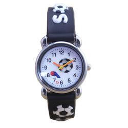 Дети мультфильм часы 3D Футбол детей Кварцевые часы модная детская одежда наручные Наручные часы relogio masculino