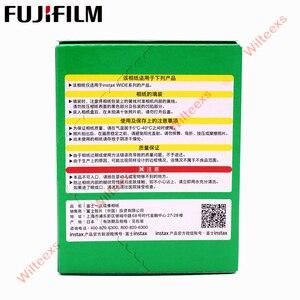 Image 5 - ブランド新しい富士インスタックスワイドフィルム無地エッジツインパック (20 写真) インスタント写真カメラインスタックス 200 210 送料無料