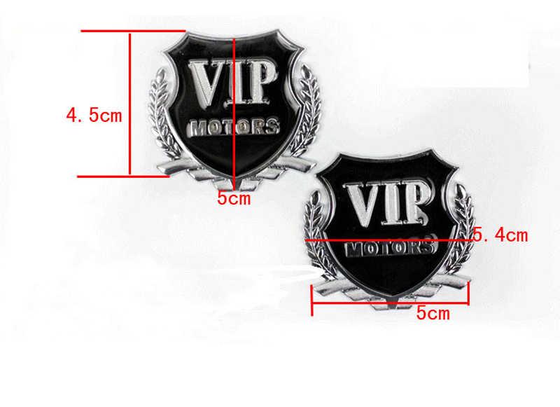 2 pcs 3D Metal Araba tasarım VIP Amblem Çıkartmaları Için Nissan Teana X-Trail Qashqai Livina Tiida Sunny Mart murano Geniss Juke