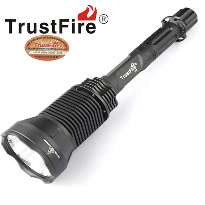 TrustFire X6 LIMINUS SST-90 2300 Lumens While Light 5-Mode LED Flashlight (3 x 18650)