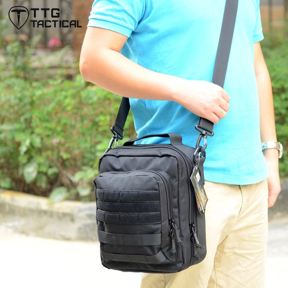 TTGTACTICAL Military SLR Camera Bag MOLLE Military Messenger Bag Multi-use Fashion Travel Shoulder Bag Made of Cordura Nylon caden m3 outdoor travel nylon shoulder bag for canon slr