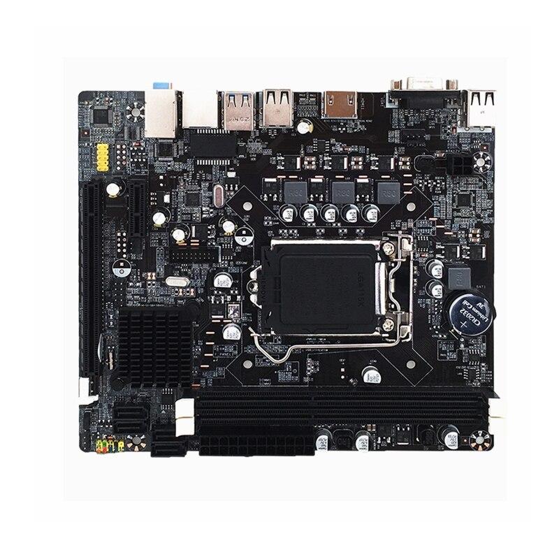 Nouvelle Arrivée 190*170mm B75 Mère 16 GB 2xDDR3 LGA1155 Socket Ordinateur De Bureau Carte Mère Carte Mère 4xSATA2. 0 pour Core 2/3