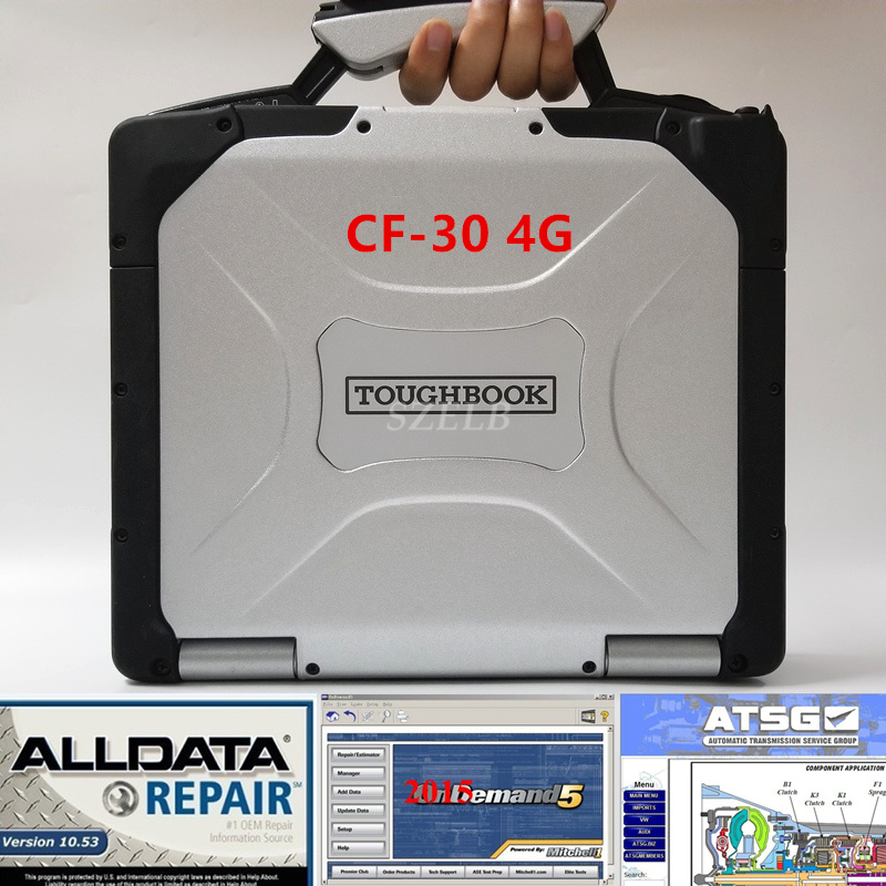 2019 All Data Auto Repair Alldata 10.53 Mitchell 2015 ATSG 2017 In 1tb Hdd Installed Well Computer For Panasonic Cf30 Laptop 4g