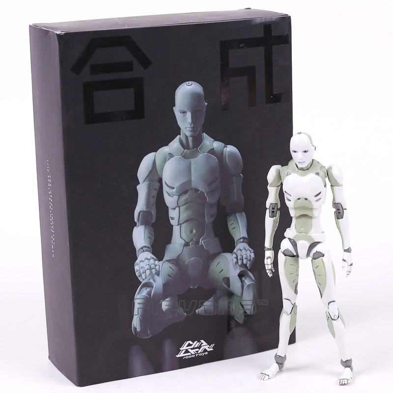 Heavy Industries Synthetic Human 1/12 Scale Action Figure Collectible Model Toy 15cm 1000toys toa heavy industries synthetic human 1 6 scale action figure collectible model toy brinquedos 28cm