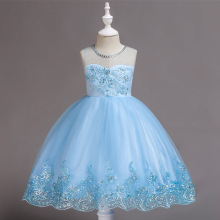 цена на Girls Evening Party Dresses Elegant Toddler Girls Princess Dress Kids For Girls Wedding Dress Children 2 4 6 8 10 12 14 Years