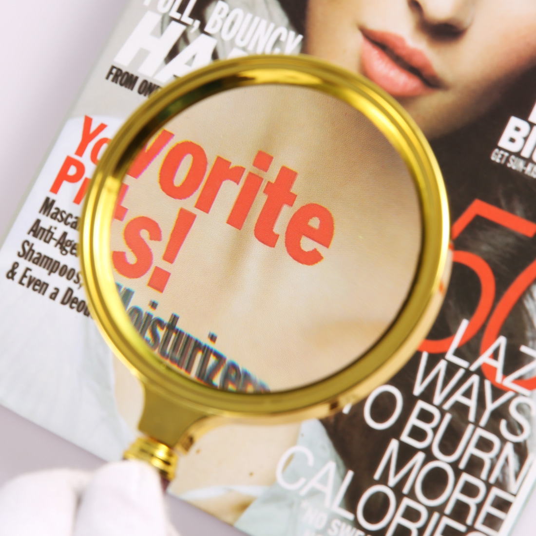 10X /15X Portable Magnifying Glass Handheld Magnifier High Definition Reading Eye Loupe Magnifying Glass Reading Jewelry
