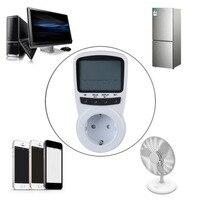 TS-1500 Contatore di Energia Elettronica Energy Monitor LCD Plug-in Contatore elettrico per la Spina di UE Monitor vendite calde