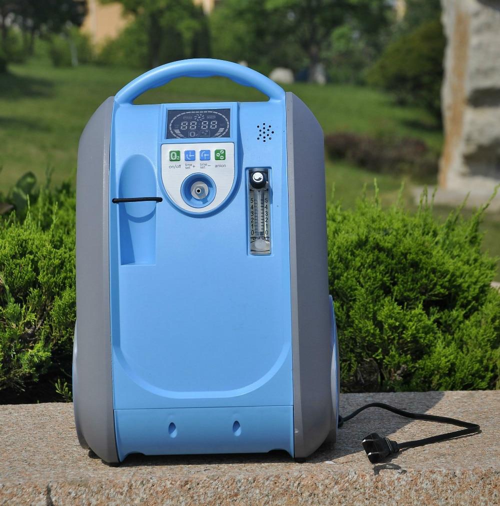 Umidificatore purificatore d'aria portatile concentratore di ossigeno utilizzato per pazienti con bpco con funzione di anione ossigeno