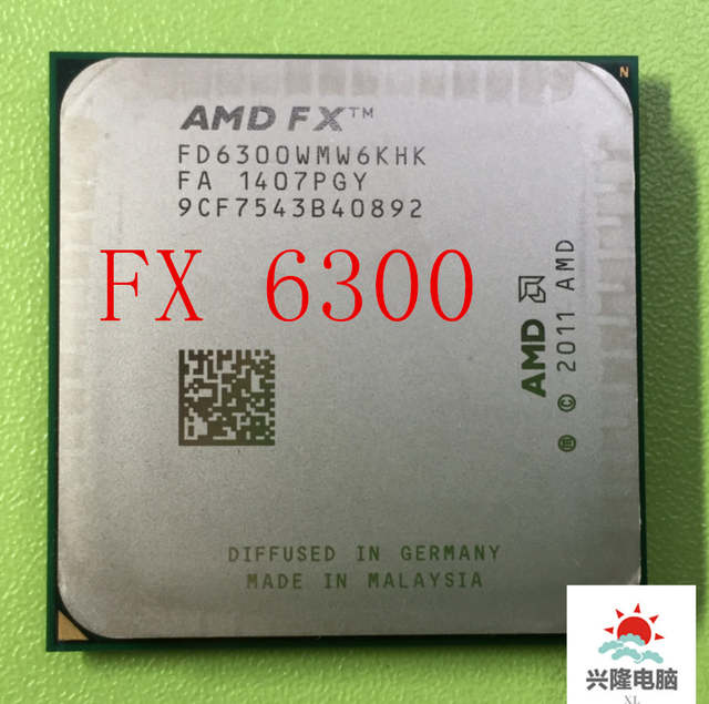 Amd Fx 6300 Am3 3 5ghz 8mb Cpu Processor Serial Shipping Free Scrattered Pieces