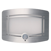 10 LED Wireless Light Operated Motion Sensor Activated Battery Operated Sconce Wall Light 1