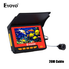 EYOYO F05 4.3 20M Infrared IR Fish Finder  boat Underwater Ice Fishing Camera Video Fishfinder sondeur peche bateau