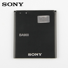 Original Sony Battery For SONY Xperia E1 GX TX LT29i SO-04D S36H ST26I C1904 C2105 BA900 1700mAh Replacement Battery sony original phone battery ba900 1700mah for sony xperia e1 s36h st26i ab 0500 gx tx lt29i so 04d c1904 c2105 retail package