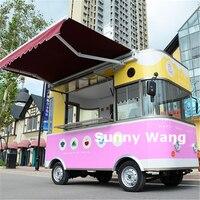 Новый дизайн многоцелевой улица фургон для еды/Трейлер для перевозки продуктов/электрический грузовик для пищевых продуктов