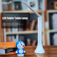 Energy Saving Folding Rechargeable 3 Model Touch LED Table Desk Lamps Office Table Lamp Student Reading