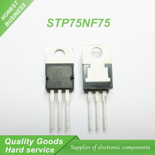 10pcs/lot P75NF75 STP75NF75 FET 75NF75 motor controller DIP TO-220 new original