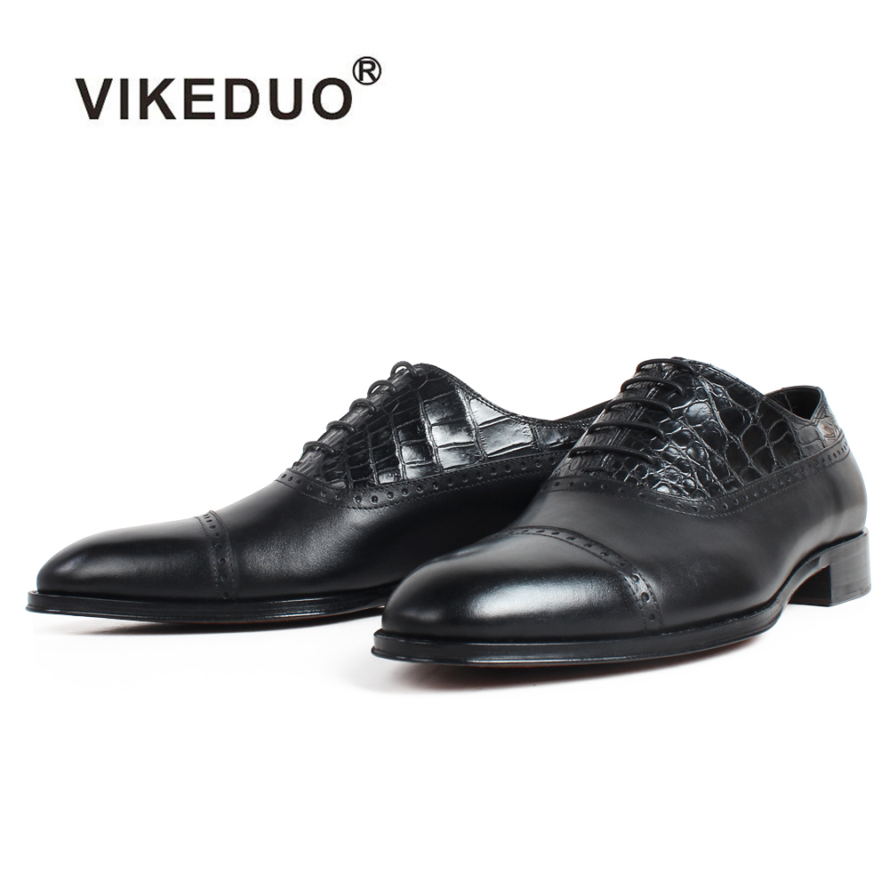 VIKEDUO Leather Shoes Men Genuine Cow Skin Handmade Patina Wedding Office Party Oxford Dress Shoes Black Formal Zapato de HombreVIKEDUO Leather Shoes Men Genuine Cow Skin Handmade Patina Wedding Office Party Oxford Dress Shoes Black Formal Zapato de Hombre