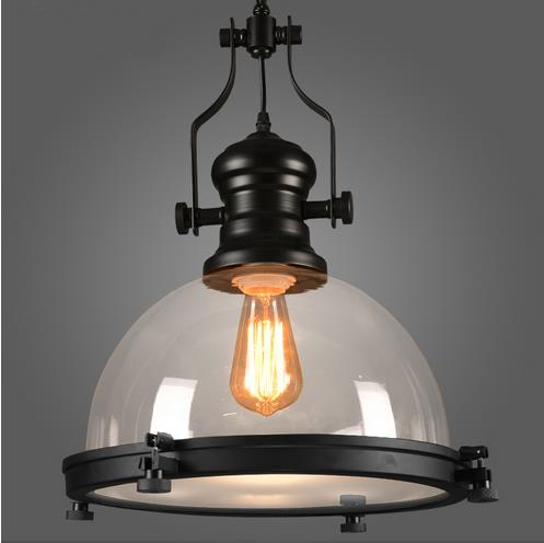где купить loft American country style wrought iron creative retro restaurant bar pendant light balconies industry pendant lamp по лучшей цене