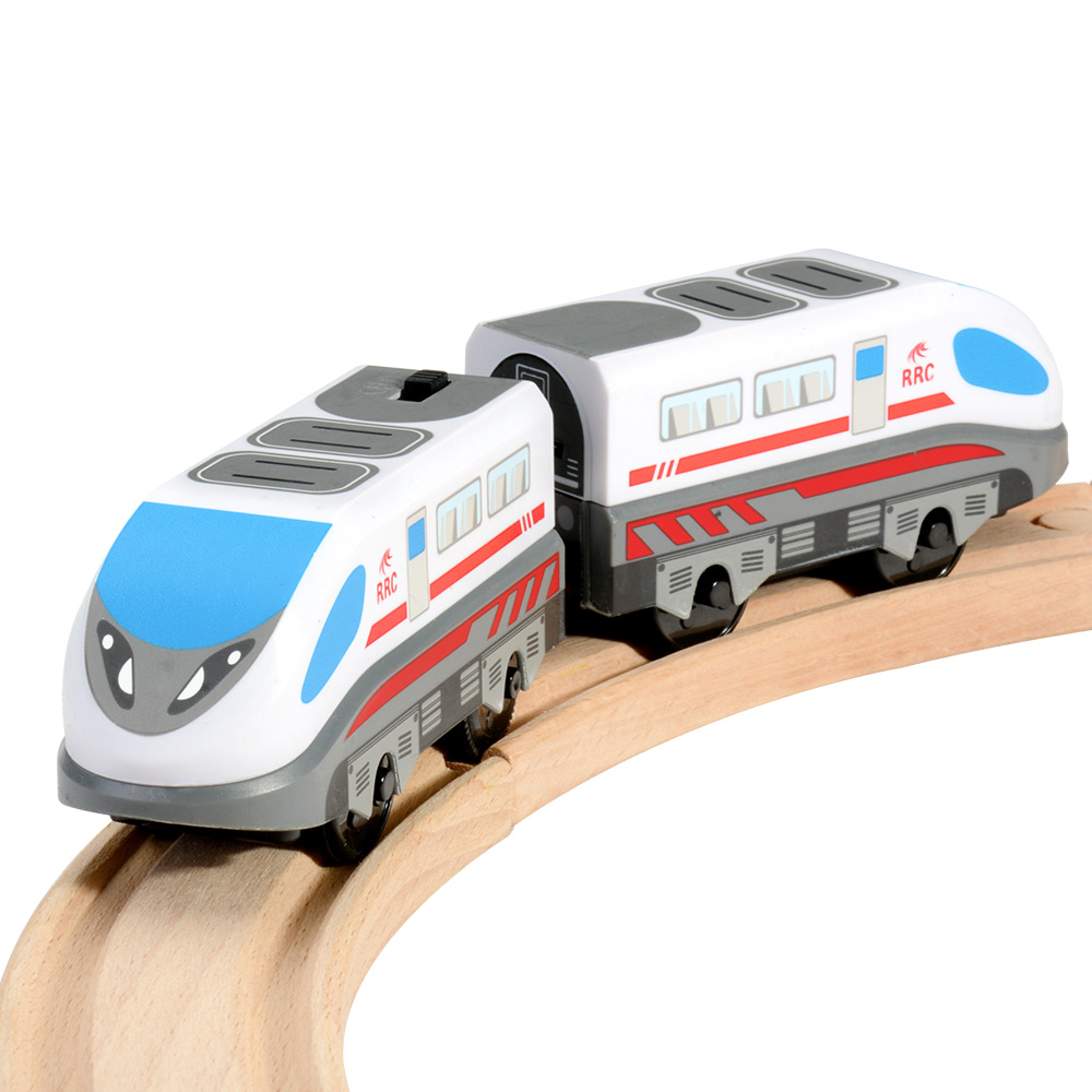 Magnetic Battery Operated Action Train Powerful Engine Bullet Train Toys Car For Toddlers Compatible With Thomas Brio Tracks