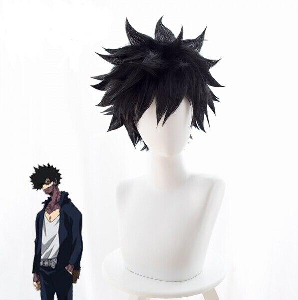 A Certain Magical Index Scientific Railgun Toma Kamijo Touma Kamijou Cosplay Wig Hair Black Color Halloween Carnival