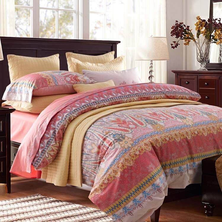 Textiles Para el hogar, promoción  100% algodón satinado Reactiva impreso cubier