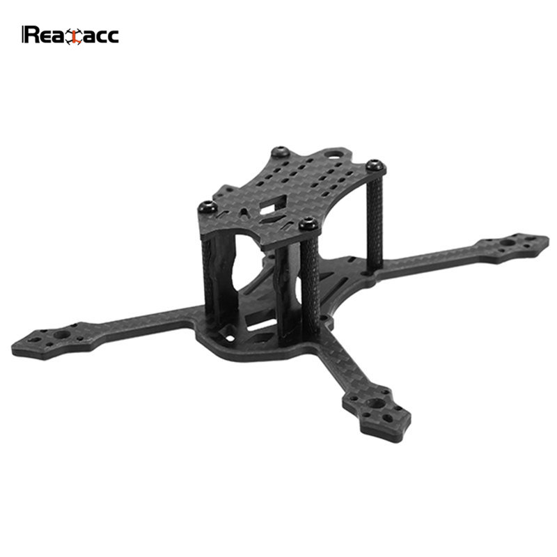 Original Realacc Blackbird 140 140mm 4mm Arm Thickness Carbon Fiber Frame Kit PDB Board Battery Strap For RC Models Quadcopter