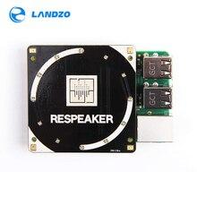 Realto falante matriz 4 mic para raspberry pi