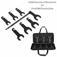 Chuang Qian 43300 Pneumatic Fan Clutch Wrench Set Removal Tool Kit for Ford/G M/Chrysler/Jeep vehicles 7 DRIVING Size