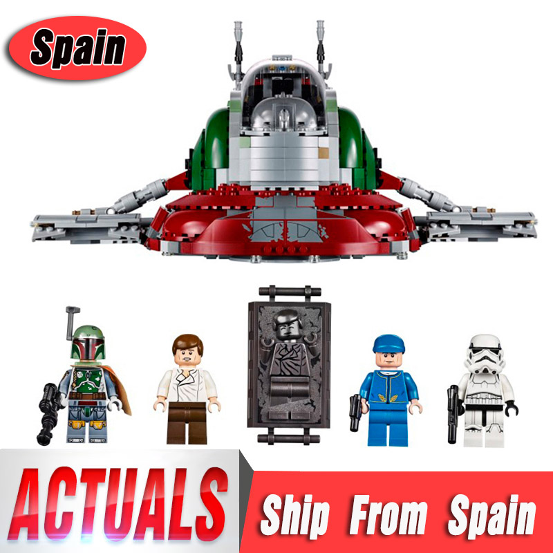 DHL 05037 Star Series Wars Slave UCS I Slave NO 1 Model Building Block Bricks Toys