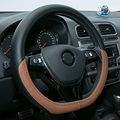 DAILEMO Funda Volante Cuero Car Leather Steering Wheel Cover National Patent For Volkswagen LAMANDO GOIF SAGITAR POLO LAVIDA