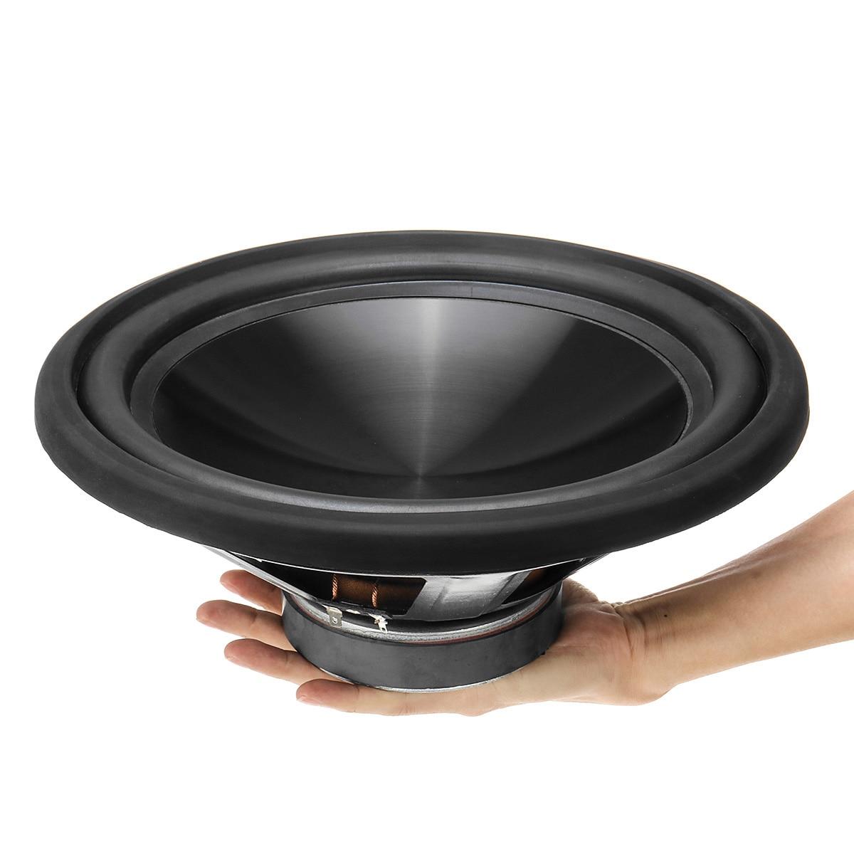 12 pouces 1200 W voiture haut-parleurs Audio haut-parleurs coaxiaux Subwoofer voiture bricolage basse corne musique stéréo Hifi véhicule musique haut-parleur Woofer