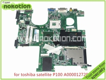 A000012720 Laptop Motherboard for Toshiba Satellite P100 P105 Series DABD1VMB06C 945PM Mainboard