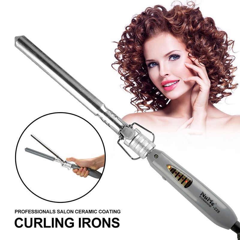 110-220v New Scoop Clips Ceramic Bars Curlers Hair Curlers Multi Size Different Length Use Hair Professional Hair Styling Tools
