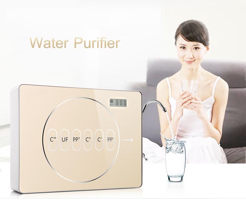 Household Instant Drinking Water Purifier Kitchen Water Purification Intelligent Ultrafiltration Tap Water Filter AZX-08UF-C5 фильтры помпы source water purification 13 m6 pp