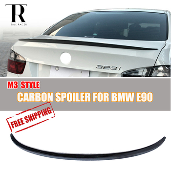 M3 Style Carbon Fiber Rear Wing Spoiler for BMW E90 E92 E93 3 Series F30 & F80 M3 image