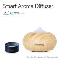 GX. Diffusor Aufladbare 7 Farbwechsel LED Voice Control Amazon Wifi APP Aroma Diffusor Ätherisches Öl Ultraschall-luftbefeuchter
