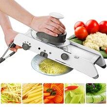 Mandoline Slicer Handleiding Groente Cutter Professionele Rasp Met Verstelbare 304 Roestvrijstalen Messen Groente Keuken Tool