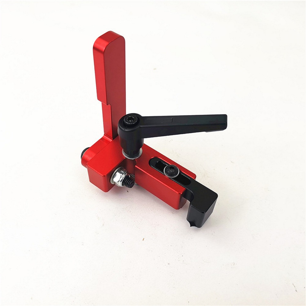 30/45/75 Type Miter Track Stop For T-slot T-track Stop Aluminium Alloy T-tracks Slot Miter Chute Limiter Woodworking Tools