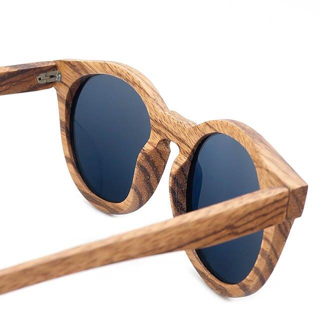 9b9bf51ba5ace BOBO PÁSSARO De Madeira De Bambu Dos Homens Do Vintage Óculos De Sol  Polarizados Revestimento Espelhado